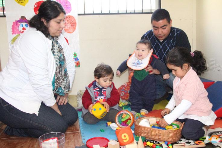 Fotos de familia participando
